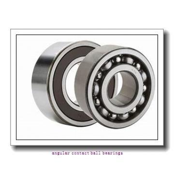 90 mm x 190 mm x 43 mm  SKF 7318 BEGAPH angular contact ball bearings