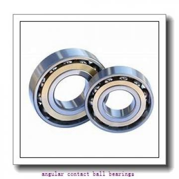 17 mm x 47 mm x 14 mm  NKE 7303-BE-TVP angular contact ball bearings