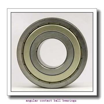85 mm x 150 mm x 49,2 mm  ISB 3217 A angular contact ball bearings