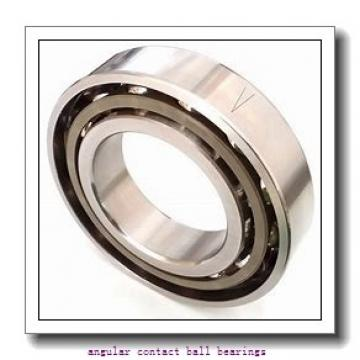 20 mm x 47 mm x 20,6 mm  NSK 5204 angular contact ball bearings