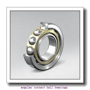 140 mm x 190 mm x 24 mm  NSK 140BER19H angular contact ball bearings