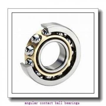 55 mm x 100 mm x 21 mm  FAG 7211-B-TVP angular contact ball bearings