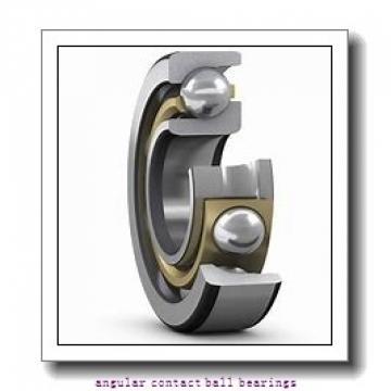 40 mm x 76 mm x 37 mm  SNR GB35237 angular contact ball bearings