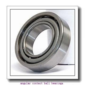 40 mm x 84,25 mm x 38 mm  ISO DAC40842538 angular contact ball bearings
