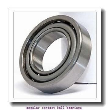ISO QJ208 angular contact ball bearings