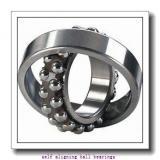 20 mm x 62 mm x 24 mm  SKF 2305 E-2RS1KTN9 + H 2305 self aligning ball bearings